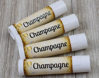 Champagne Flavored Lip Balm - Handmade All Natural Lip Balm