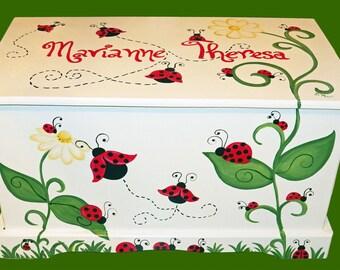 Ladybug Toy Box Custom Designed for you