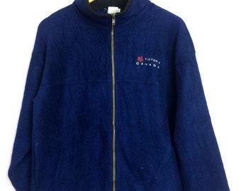 Vintage Victoria Canada Fleece Jacket