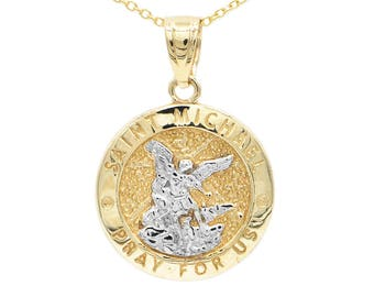 necklace silver store sku medal products st sterling emt michael