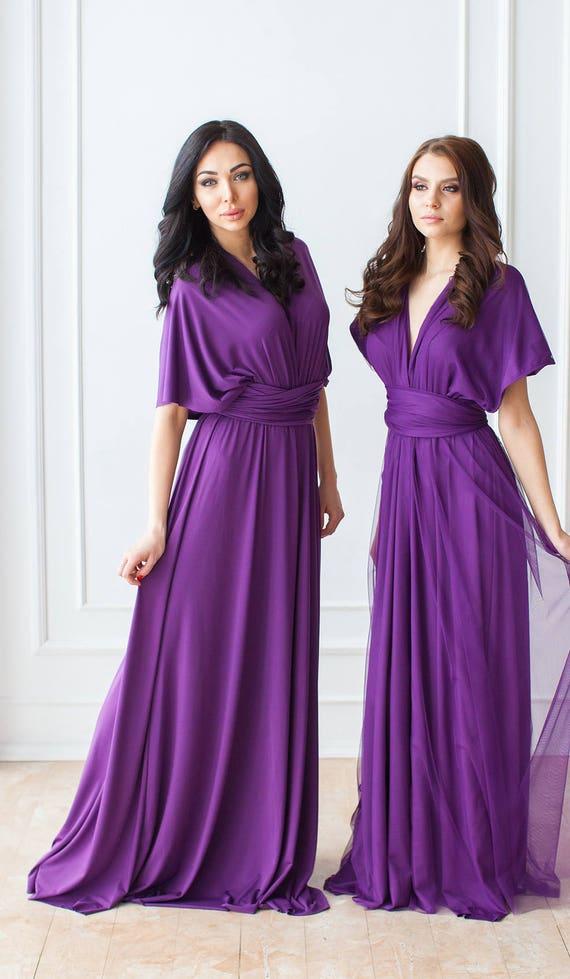 Bridesmaid Dresses Infinity Bridesmaid Dress Convertible