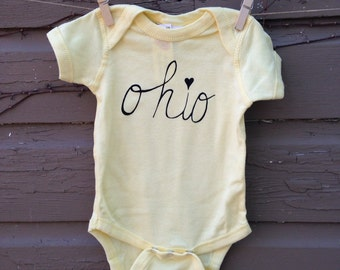 Ohio Love Onesie