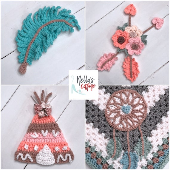 Crochet Pattern - INSTANT PDF DOWNLOAD - Pattern - Crochet Pattern ...