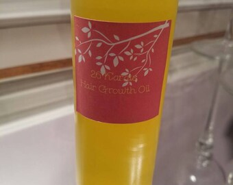 Scalp & Hair Growth oil/ Hot Oil Treatment with Rosemary, Lavender, Clary sage, tea tree, and peppermint oil