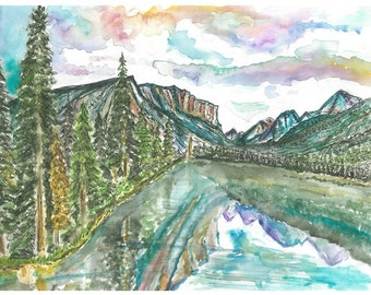 Hyalite Canyon Card