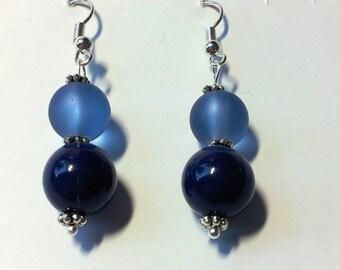 """Earrings """"Blue 3"""""""