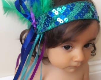 Childrens boho headband