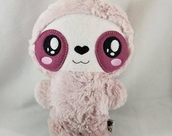 Sloth Plush - Stuffed Sloth - Ready to Ship!