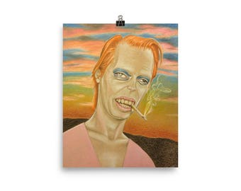 Steve Bowie, art print, prints and posters, illustration, quirky