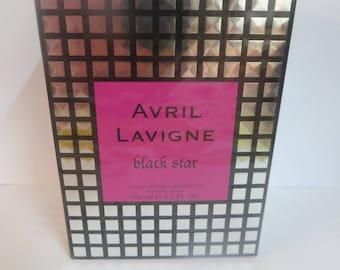 BLACK STAR By Avril Lavigne Eau De Parfum 100ml 3.3 fl.oz rare discontinued.