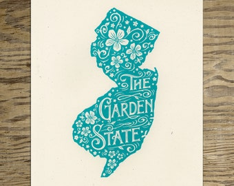 The Garden State — New Jersey Wall Art