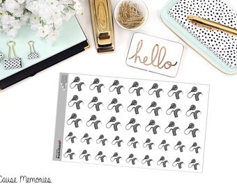 COCHLEAR IMPLANT Paper Planner Stickers