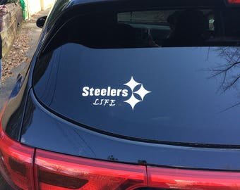 Steelers Decal/Pittsburgh Decal/ Football Decals/ Steelers