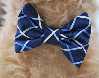 Silk Dog Bow Tie