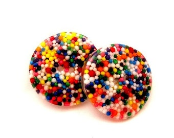 Sprinkle Buttons - Set of 3