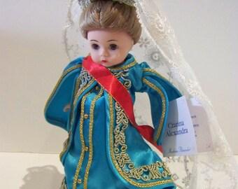Czarina Alexandra Madame Alexander 8 inch doll