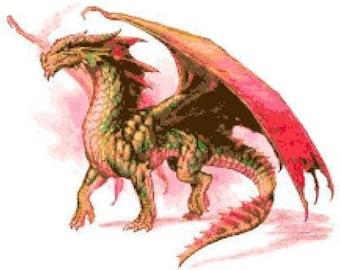 Dragon Cross Stitch Chart