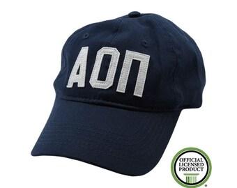 Alpha Omicron Pi - Felt Letter Hat