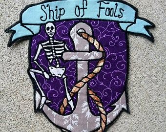 Ship of Fools Grateful Dead Patch