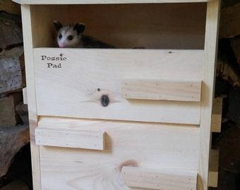 Possie Pad Opossum House