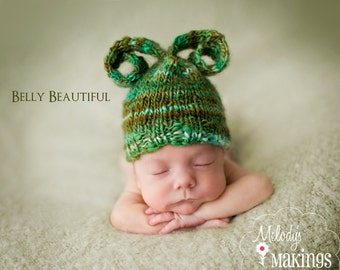 Bitty Bug Hat Knitting Pattern - 7 Sizes Included - PDF Sale - Instant Digital Download