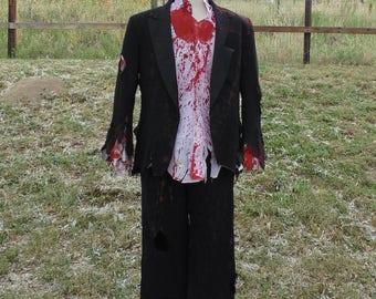 Men's Prom Zombie Complete Costume