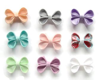 Hair bows, Baby headwrap bows, Easter, Headwrap baby girl, bow headband, baby headwrap, hair accessory, newborn headbands, baby small bows