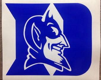 Duke Blue Devils Vinyl Decal