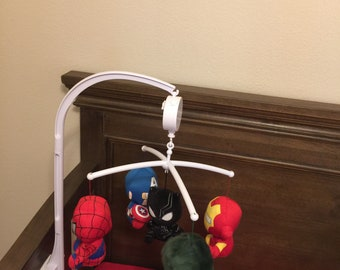 Marvel Character Baby Mobile
