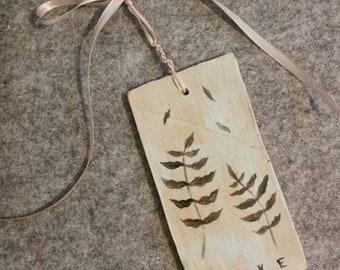 Alive - handmade ceramic tile wall hanging