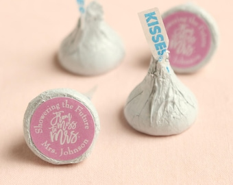 Personalized Wedding Hershey Kiss Favors
