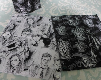 Harry Potter Unpaper Towels, reusable paper towels (set of 8)