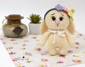 Stuffed bunny rabbit Bunny doll Girlfriend gift for girl Plush Bunny stuffed animal Easter bunny figurine rabbit plush animal Easter gift
