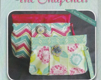 The SNAPchel - Clutch - Bag - Pattern - By Stitchin Sisters
