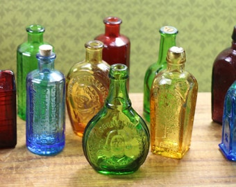 1 Wheaton Glass Miniature Bottle