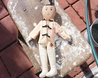 Vintage Asian infulenced rag doll