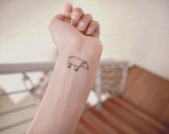 Origami Temporary Tattoo (Choose 7 out of 14)
