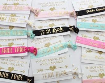 Hen Party Favour - Wristbands - Hair Ties - Hen Party Gift Bags ideas - Bachelorette Party Bags - Bachelorette Party Favors - Bridal Shower
