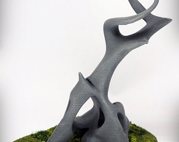 "Wargame Terrain - Stag (""Ghost Stones"") – UNPAINTED kit - Miniature Wargaming & RPG terrain - 6 inches (large version) / 5 inches (small)"