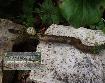 Flidais Lady of the Forest Wand-Fairy - Forest Witch- Goddess wand- Wicca-Druid-Pagan-celtic