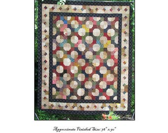 The County Fair Quilt Pattern PDF Reproduction Traditional Style QRD374