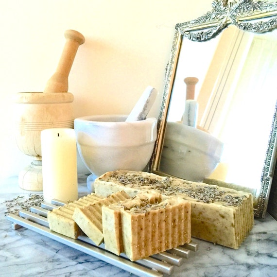 Organic Lavender Honey-N-Oats Soap