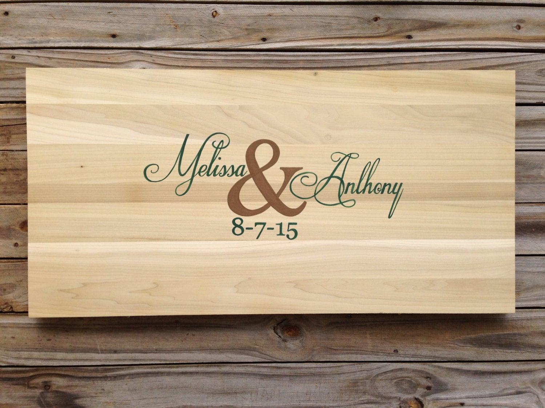 Unique Guest Book Wood, Wedding Guestbook Alternative, Wedding Sign ...