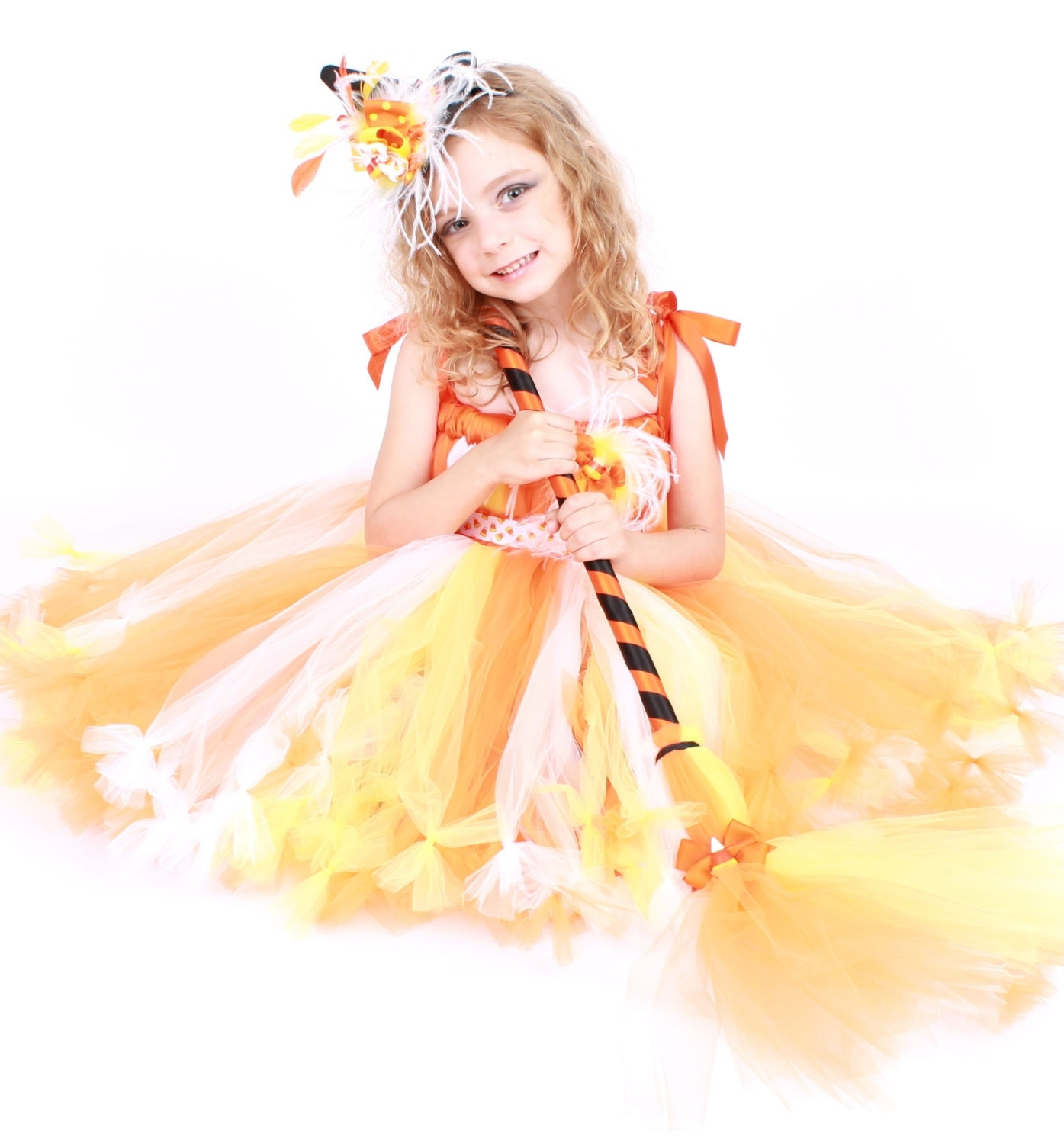 ?zoom  sc 1 st  Etsy & COMPLETE COSTUME Ready to Ship: Petti Tutu Dress Halloween