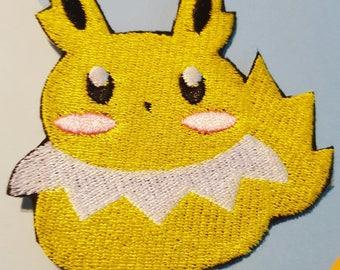 """Eeveelution Pokemon Jolteon 3"""" Iron On Patch"""