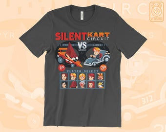 Silent Hill Racing T-SHIRT Silent Kart Circuit // Silent Hill // Pyramid Head // Survival Horror // Horror Games // Gamer Gifts