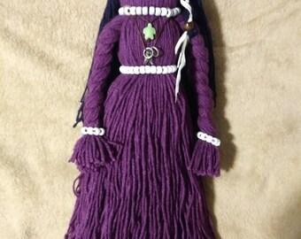Native American Yarn Doll