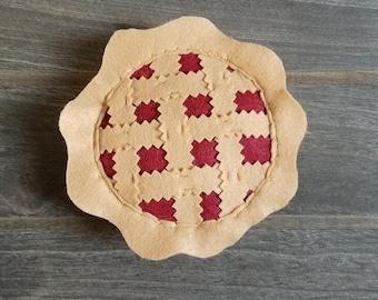 Felt Cherry Pie