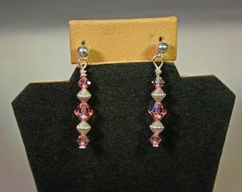 Swarovski Crystal Earrings # 975
