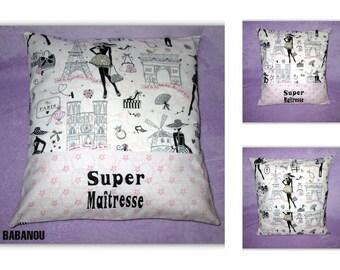 teacher gift pillow cover